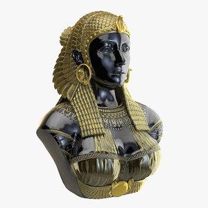 3D model cleopatra t