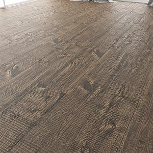wood floor oak oakland 3D model