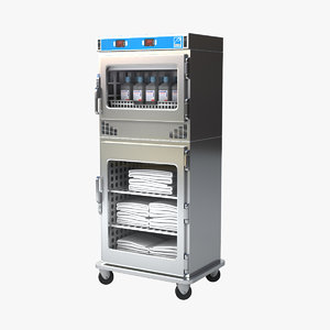 3D model blanket fluid warming cabinet