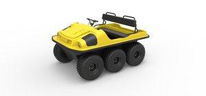 3D model argo 6x6