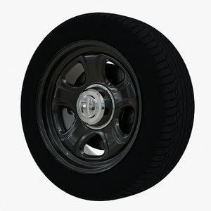 3D tire wheel brake disc