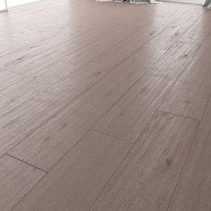 wood floor oak brayton 3D