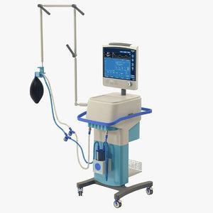hospital ventilator model