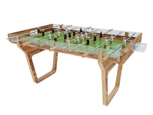 3D model foosball table pulse