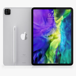 3D model apple ipad pro 11-inch