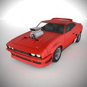 polycar n90 lp1 cars 3D model