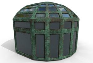 solarium addition home model