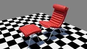 garden chair 3D model