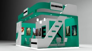exhibition stall 3D
