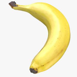 banana 02 3D model