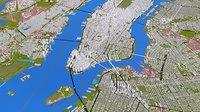 NEW YORK CITY 1 MANHATTAN JERSEY