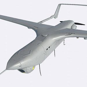 drone aircraft uav 3D