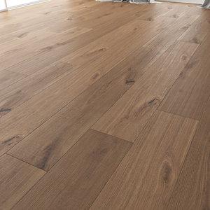 wood floor oak vergne 3D