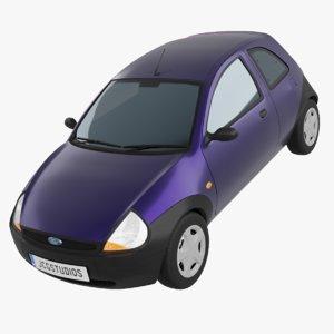 ka wheel car vehicle 3D model