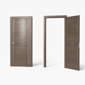 door pbr metallic 3D model