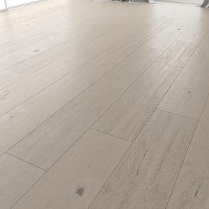 3D wood floor oak irbis model