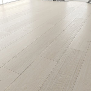 wood floor oak carlail 3D model