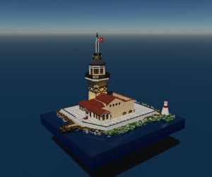 voxel maiden tower model