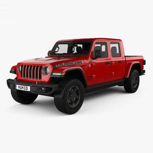 3D gladiator rubicon jeep model