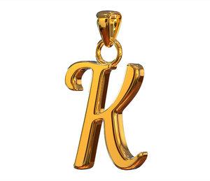 3D k pendant