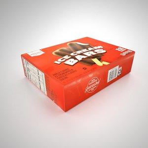 ice-cream pack 3D