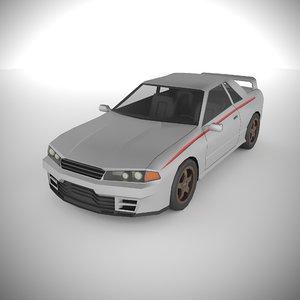 3D polycar n91 cars