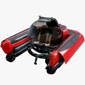 underwater mini u-boat c-explorer 3D