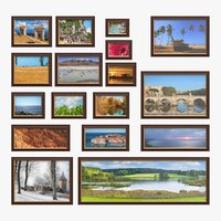 Wall Picture Frames Set 01 A