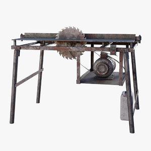 circular machine 3D model