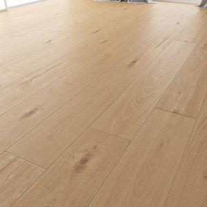 3D wood floor oak natural