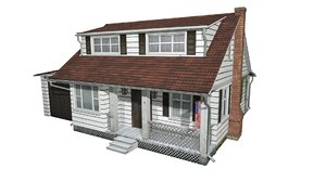 house american 3D