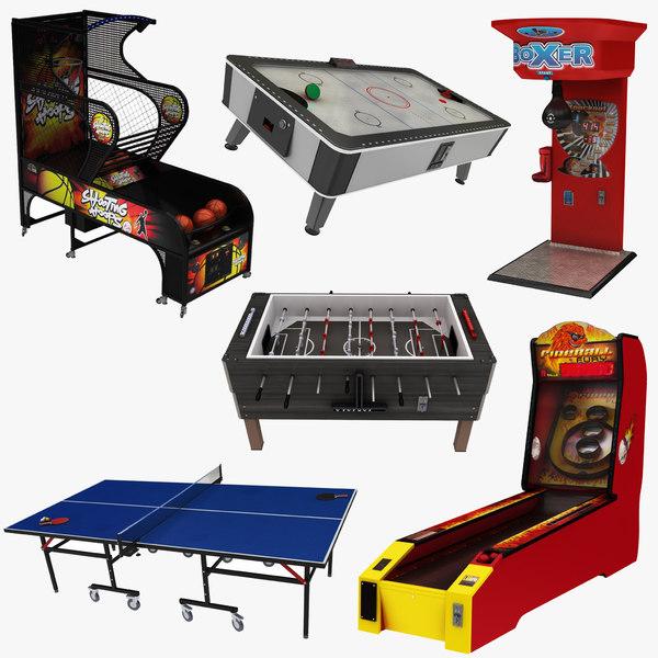 3D arcade games 6 1