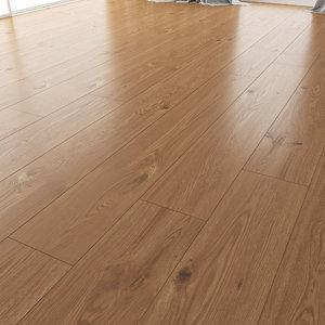 wood oak floor nut 3D model
