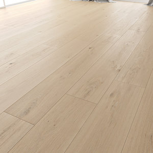 wood floor oak princeton 3D model
