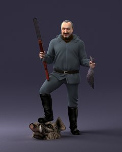 hunter hunt 3D model