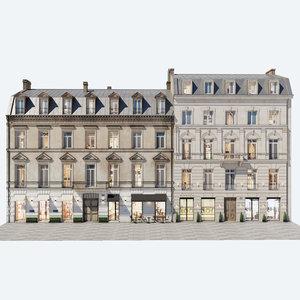 residential buildings 1 model