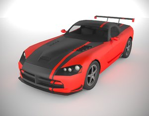 3D model polycar n92 lp1 cars