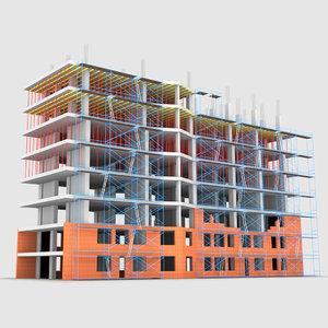 3D construction building