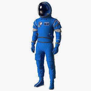 boeing space suit model