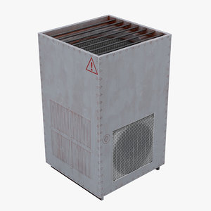 3D air conditioning 03 model