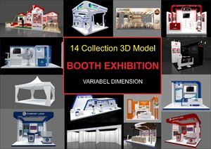 booth exhibition 3D