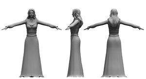 wedding girl 3D