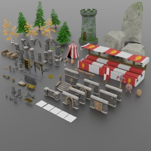 fantasy pack model
