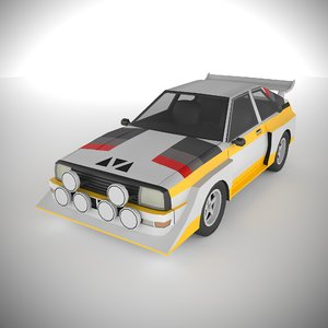 polycar n93 lp1 cars 3D model