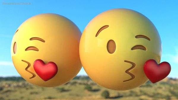 Smiley kuss zeichen herz 😘 Kuss