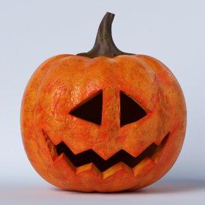 pumpkin face 06 model