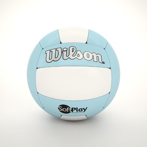 volleyball ball volley 3D model
