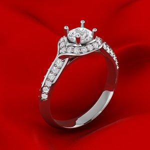 unique mamjan engagement ring model