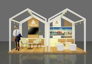booth 3x5 3D