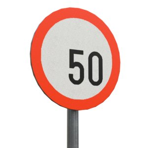 speedlimit sign model